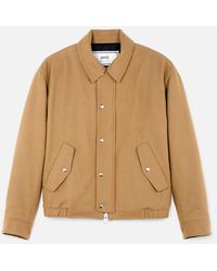 AMI - Quilted Zipped Jacket - Lyst