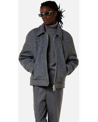 AMI Ami De Coeur Turtleneck Sweater - Gray