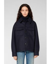 AMI Buttoned Jacket - Blue