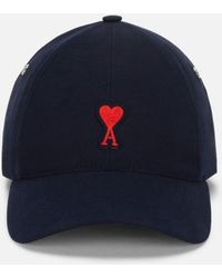AMI Patch Baseball Cap - Blue