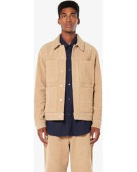 AMI Worker Jacket - Natural