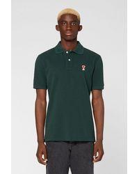 AMI De Coeur Polo Shirt - Green