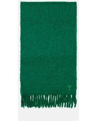 AMI Ami De Coeur Oversize Scarf - Green