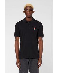 AMI De Coeur Polo Shirt - Black