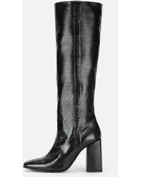 AMI Heeled Boots - Black