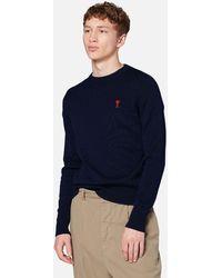 AMI Turtleneck Sweater - Black