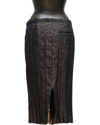 Undercover Straight Skirt - Black