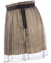 Undercover Pleated Skirt - Multicolour