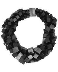 Monies Necklace - Black
