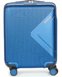 American Tourister MODERN DREAM 55CM 4R Valise - Bleu