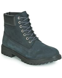 Lumberjack RIVER hommes Boots en bleu