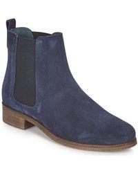 André CHATELAIN Boots - Bleu