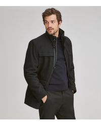 Andrew Marc - Brantley 4 Pocket Wool Coat - Lyst