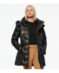 Andrew Marc Pomona Quilted Down Parka - Black