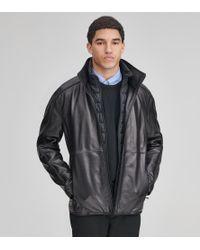Andrew Marc - Hartz Leather Jacket - Lyst