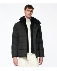 Andrew Marc Carlton Matte Down Jacket - Black
