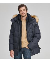 Andrew Marc Conway Matte Down Parka - Black