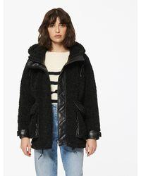 Andrew Marc Saros Faux Fur Jacket - Black