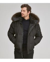 Andrew Marc Bennett Quilted Down Puffer - Black