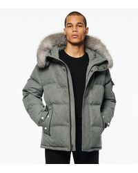 Andrew Marc Koriabo Down-filled Hooded Parka - Black