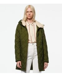 Andrew Marc - Cascade Crinkle Quilt Parka - Lyst