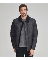 Andrew Marc - Brixton Quilted Trucker - Lyst