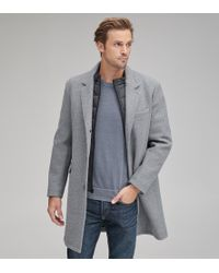 Andrew Marc - Cunningham Wool Car Coat - Lyst