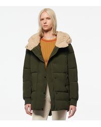 Andrew Marc - Sarawee Synthetic Down Sherpa Lined Puffer - Lyst