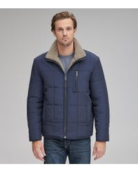 Andrew Marc - Nixon Reversible Quilted Jacket - Lyst