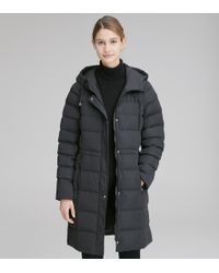 Andrew Marc Sutton Quilted Synthetic Down - Black