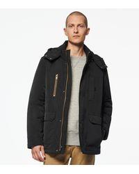 Andrew Marc Jennings 4 Pocket Jacket With Hood - Black