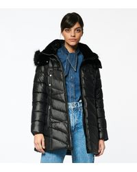 Andrew Marc - Shirley Plus Synthetic Down Puffer Jacket - Lyst