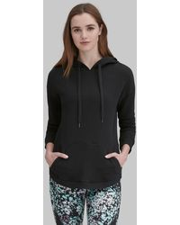 Andrew Marc - Long Sleeve High-low Hooded Pullover - Lyst
