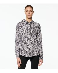 Andrew Marc Printed French Terry Hoodie - Multicolour