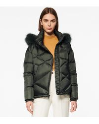 Andrew Marc - Ashland Quilted Puffer Jacket - Lyst
