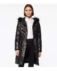 Andrew Marc - Ventura Asymmetrical Quilted Synthetic Down Coat - Lyst