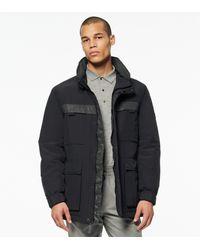 Andrew Marc Granard Four-pocket Utility Jacket - Black