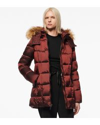 Andrew Marc - Riverdale Iridescent Puffer Jacket - Lyst