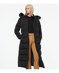 Andrew Marc - Totowa Synthetic Down Long-line Puffer Coat - Lyst