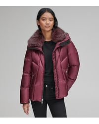 Andrew Marc Naya Down Quilted Jacket - Red