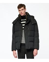 Andrew Marc Baltic Down Coat - Black
