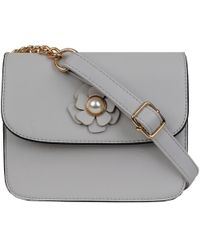 Andrew Marc - Crossbody With Flower Details - Lyst