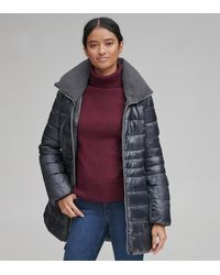 Andrew Marc - Windsor Quilted Synthetic Down - Lyst