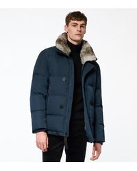 Andrew Marc Bryant Down Puffer - Blue