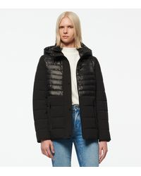 Andrew Marc - Macoya Synthetic Down Hooded Puffer - Lyst