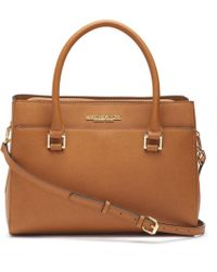 Andrew Marc - Manhattan Saffiano Leather Square Satchel - Lyst