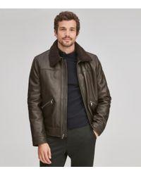 Andrew Marc - Kilmer Leather Jacket - Lyst
