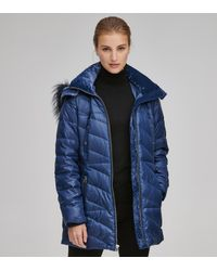 Andrew Marc - Shirley Synthetic Down Puffer Jacket - Lyst