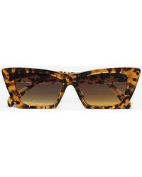 Anine Bing Levi Sunglasses - Brown