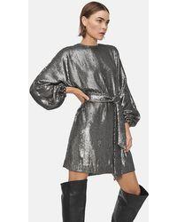 Anine Bing Angie Dress - Gray